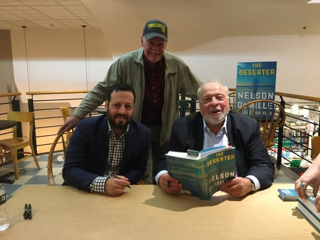 James Robertson with Nelson & Alex DeMille